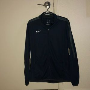 Nike zip up workout jacket